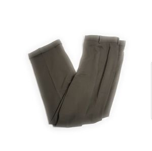 Brooks Brothers Pants Double Pleated Cuffed Wool
